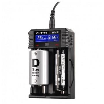 Caricabatterie 2 posti XTAR-SV2