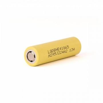 Batteria LG ICR 18650 HE4 - 2500 mAh 20A senza pin