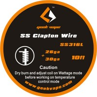 ss clapton wire 26+30 ga