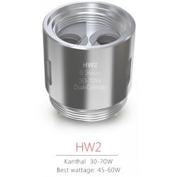 Resistenza COIL Eleaf HW2 DUAL-CYLINDER - 0,3 OHM