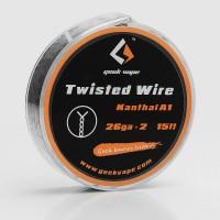 WIRE TWISTED KANTHAL A1 26GA*2 (5 M) - GEEK VAPE