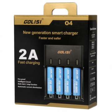 Caricabatterie 4 posti Golisi O4 2.0A Fast Smart Charger