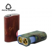 ARCTIC DOLPHIN - AMBER BOX MOD BF STABILIZED WOOD