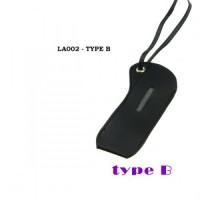 Laccetto in Pelle per Justfog Q16/P16A - nero