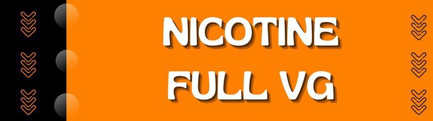 Nicotine Full VG