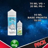 90ml di base 70/30 senza Nicotina