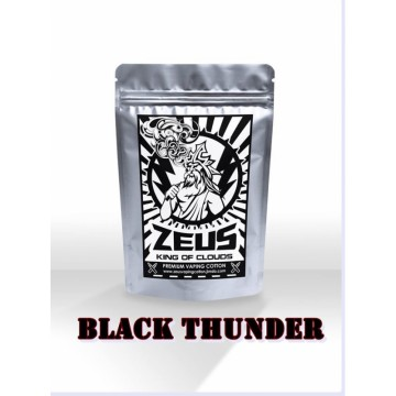 Zeus Vaping Cotton - King of Clouds - Black Thunder - Large