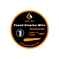 Filo resistivo GEEK VAPE WIRE FUSED CLAPTON - 24GA*2 + 32GA - 3 M