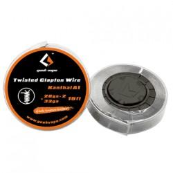 Filo resistivo GEEKVAPE TWISTED clapton wire KANTHAL A1 28 X 2 +32 ga
