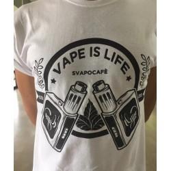 T-Shirt VAPE IS LIVE Bianca