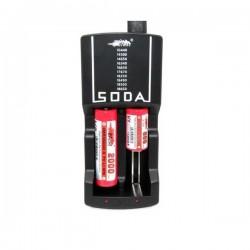 Caricabatterie 2 posti Efest Soda EU Plus