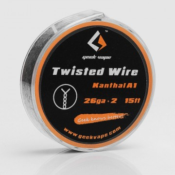 WIRE TWISTED KANTHAL A1 26GA*2 (5 M) - GEEK VAPE