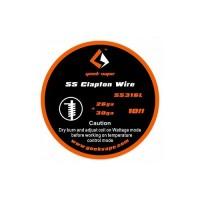Filo resistivo GEEK VAPE WIRE CLAPTON SS316 26GA+30GA (3 M)