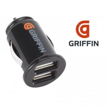 Caricabatterie USB da auto – Griffin - 2 porte USB da 2A