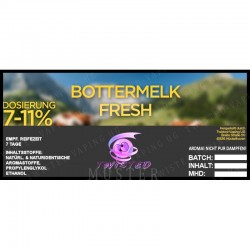 Aroma TWISTED - BOTTERMELK FRESH
