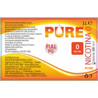 Base Pure - Full PG - 1 litro