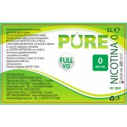 Base Pure - Full VG - 1 litro