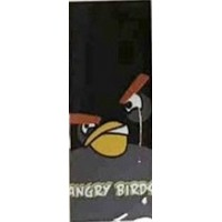 WRAP Termorestringente 18650 - Angry Birds Nero