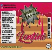 Liquido Tornado Juice - Freakshow Lentini - pane tostato e marmellata di frutti rossi