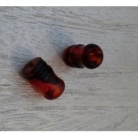 Drip Tip Metacrilato - OFFICINE - Tartaruga Rosso