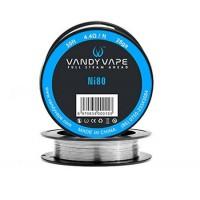 Filo resistivo VANDY VAPE Pure Nichel Ni80 - 10m