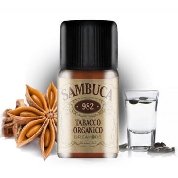 Aroma DreaMods - Tabacco organico - Sambuca No.982
