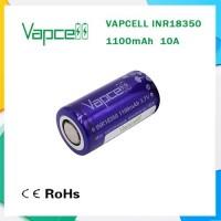 Batteria 18350 VAPCELL 1100 Mah
