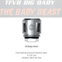 Resistenza SMOK TFV8 BABY - MESH - 0,15ohm