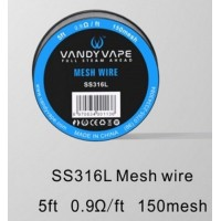 Vandy Vape SS316L Mesh Wire 0.9ohm 1,50ml
