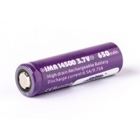 Batteria Efest IMR 14500 - 650mAh