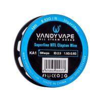 Filo resistivo VandyVape KA1 Superfine MTL Clapton Wire 30ga+38ga - 3m