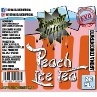 Aroma Tornado Juiice - Peach Ice Tea - 20ml