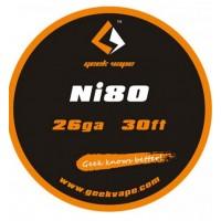 Filo resistivo GEEKVAPE Ni80 26ga