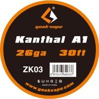 Filo resistivo GeekVape Kanthal A1 26GA