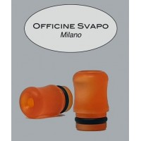 Drip Tip Metacrilato - OFFICINE - Arancio Madreperla