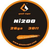 Filo resistivo GeekVape Ni 200 26GA