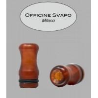 Drip Tip Officine Svapo - Calipso -  Metacrilato Tartaruga Rosso Madreperla