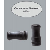 Drip Tip Officine Svapo - Calipso -  Metacrilato Grigio Scuro Madreperla