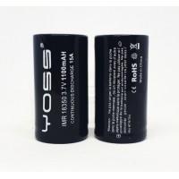 Batteria Yoss 18350 15A / 1100mAh
