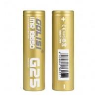 Batteria G25 18650 2500mAh 20A - Golisi