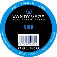 Filo VANDY VAPE Nichel Ni80 24Ga