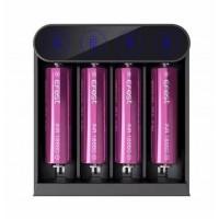 Caricabatterie 4 posti Efest Slim K4 con USB Type-C