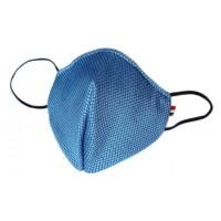 Mascherina in tessuto CupMask D84 Bluette new
