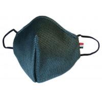 Mascherina in tessuto CupMask D84 Verdone-Nero new