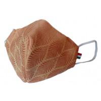 Mascherina in tessuto CupMask Foglia Arancio new