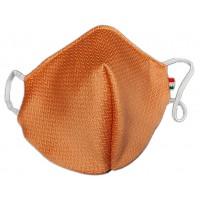 Mascherina in tessuto CupMask Zip Arancio