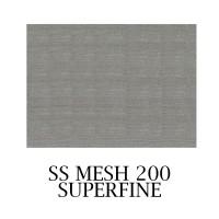 Mesh 200 SUPERFINE SS 300x200mm