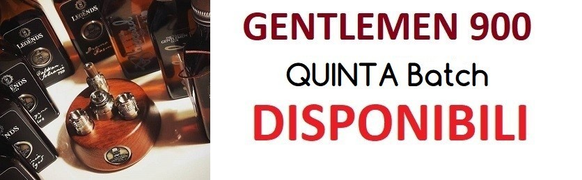 Gentlemen 900 Quinta batch
